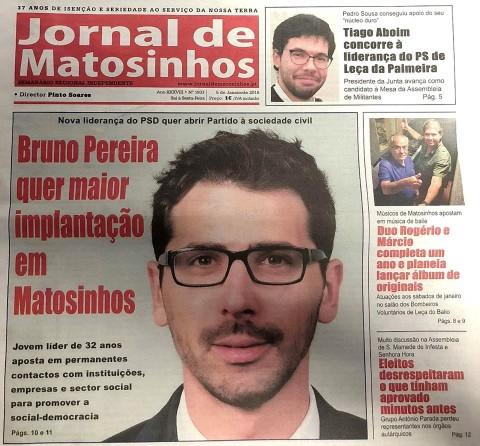 Bruno Pereira quer maior implantação em Matosinhos