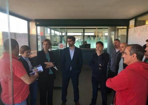 Deputados do PSD reunem com a Comissão de Trabalhadores e dirigentes Sindicais da GALP