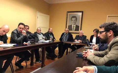 PSD Matosinhos, TSD Porto e deputada Carla Barros reune com a Comissão de Trabalhadores da Petrogal.