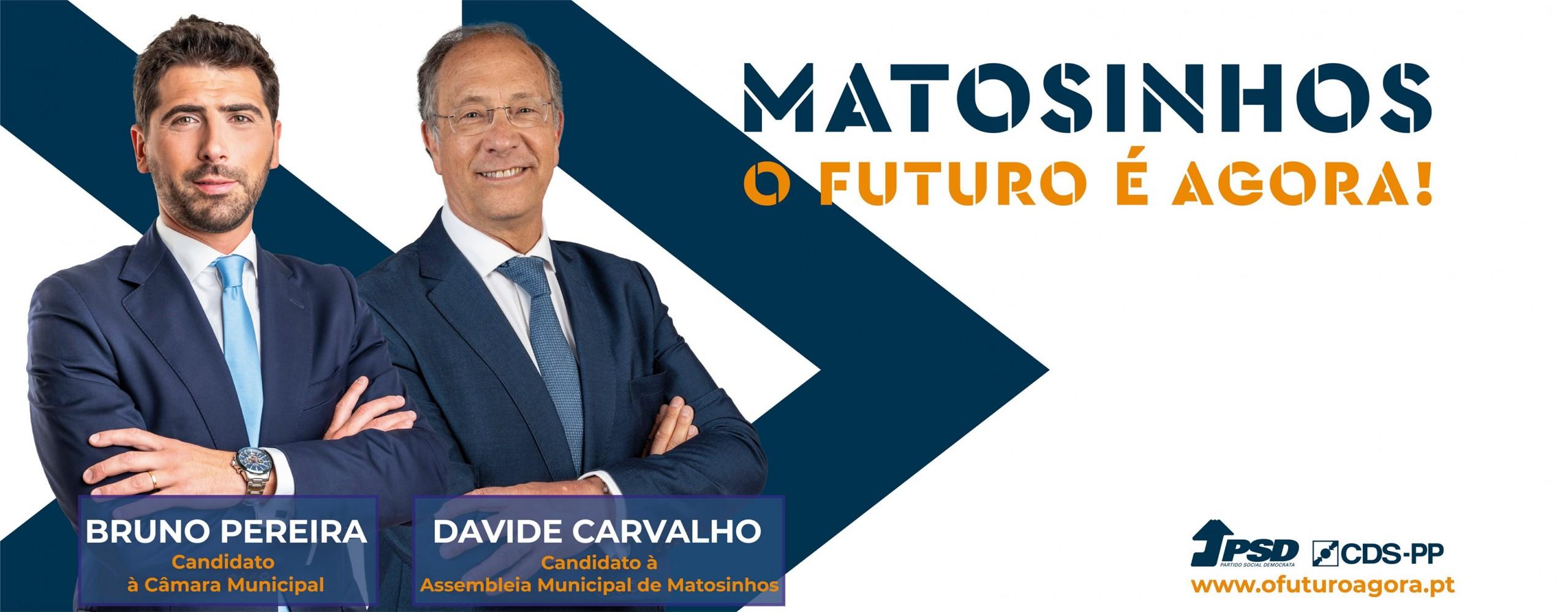 Bruno Pereira e Davide Carvalho