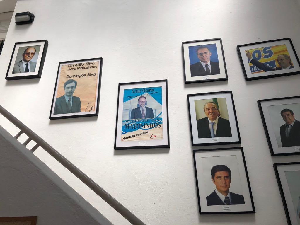 Galeria fotográfica dos candidatos à presidência da CMM pelo PPD-PSD