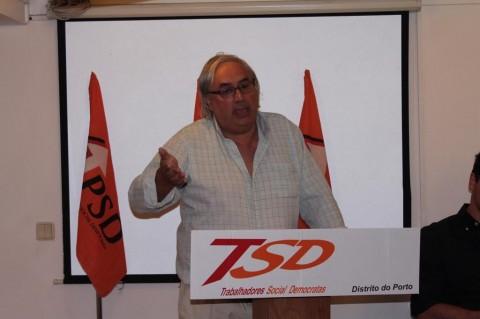 Assembleia Distrital dos Trabalhadores Social Democratas em Matosinhos.