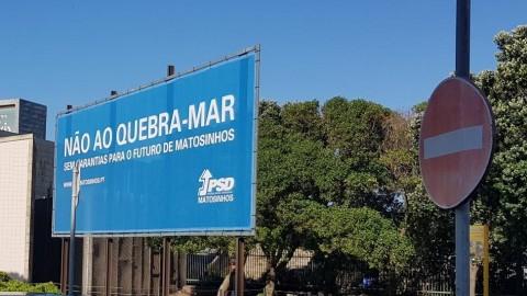 Comunicado: O Partido Socialista defende sozinho a obra do prolongamento do quebra-mar do Porto de Leixões