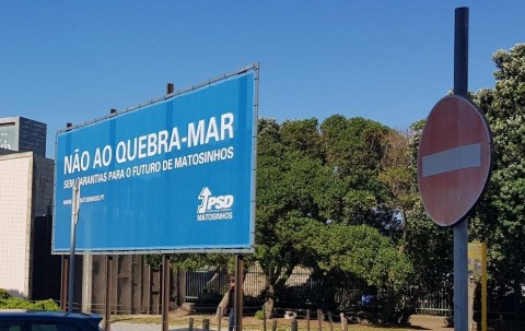 Comunicado: O Partido Socialista defende sozinho a obra do prolongamento do quebra-mar do Porto de Leixões