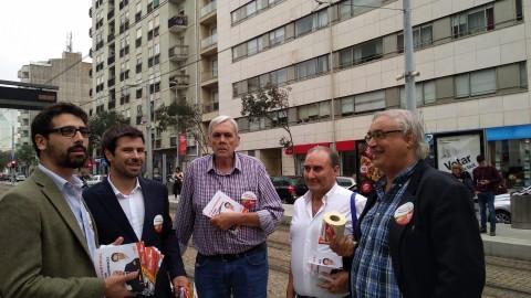 Portugal Precisa de Si – Legislativas 2019 – Campanha no metro de Matosinhos