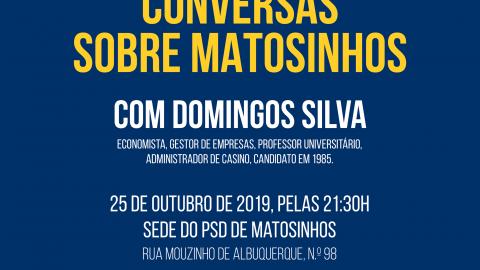 3 edição de Conversas sobre Matosinhos
