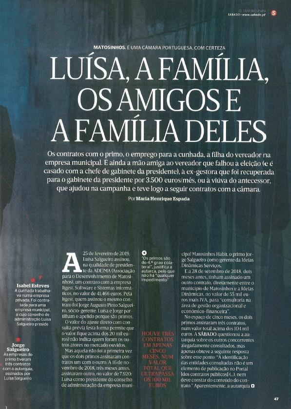 Luisa, A Familia, Os Amigos e A Familia Deles