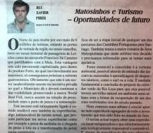 Matosinhos e Turismo – Oportunidades de Futuro | Rui Xavier Pires