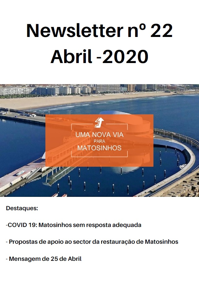 Newsletter Abril 2020