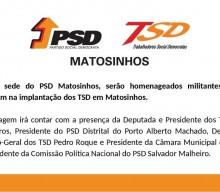 Homenagem a militantes dos Trabalhadores Social Democratas de Matosinhos